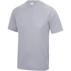 vaatteet Miehet Lyhythihainen t-paita Awdis JC001 Heather Grey