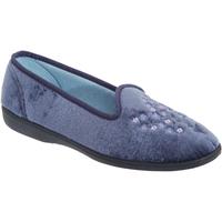 kengät Naiset Tossut Sleepers  Blueberry
