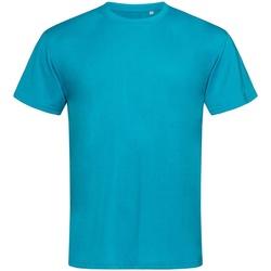 vaatteet Miehet Lyhythihainen t-paita Stedman  Hawaii Blue