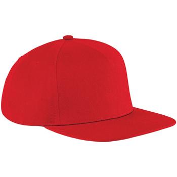 Asusteet / tarvikkeet Lippalakit Beechfield B660 Classic Red/Classic Red