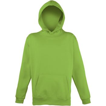 vaatteet Lapset Svetari Awdis JH04J Electric Green