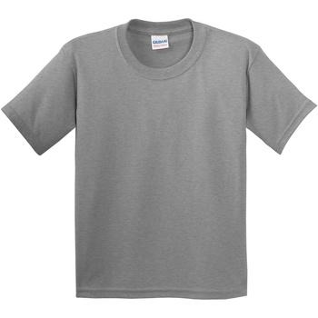 vaatteet Lapset Lyhythihainen t-paita Gildan 5000B Sport Grey
