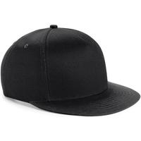 Asusteet / tarvikkeet Lapset Lippalakit Beechfield BC615 Black/ Black