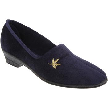 kengät Naiset Tossut Sleepers Andover Navy Blue