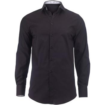 vaatteet Miehet Pitkähihainen paitapusero Alexandra Hospitality Black/ White