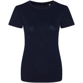 vaatteet Naiset Lyhythihainen t-paita Ecologie EA01F Navy