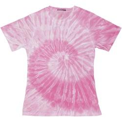 vaatteet Naiset Lyhythihainen t-paita Colortone TD20M Spider Pink