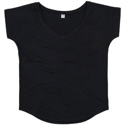 vaatteet Naiset Lyhythihainen t-paita Mantis M147 Black