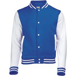 vaatteet Lapset Pusakka Awdis JH43J Royal Blue/White