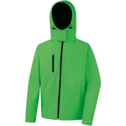 vaatteet Miehet Fleecet Result R230M Vivid Green/Black