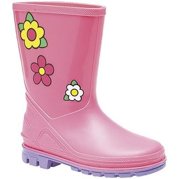 kengät Tytöt Kumisaappaat Stormwells  Pink/Lilac