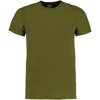 vaatteet Lyhythihainen t-paita Kustom Kit KK504 Khaki