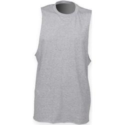 vaatteet Miehet Hihattomat paidat / Hihattomat t-paidat Skinni Fit SF232 Heather Grey