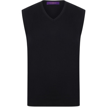 vaatteet Miehet Hihattomat paidat / Hihattomat t-paidat Henbury HB724 Black