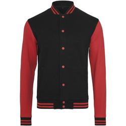 vaatteet Miehet Pusakka Build Your Brand BY015 Black/Red