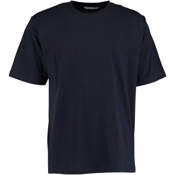 vaatteet Miehet Lyhythihainen t-paita Kustom Kit KK500 Navy Blue