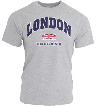 vaatteet Miehet Lyhythihainen t-paita England  Sports Grey
