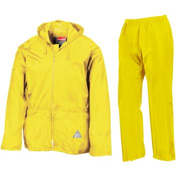 vaatteet Miehet Verryttelypuvut Result RE95A Neon Yellow