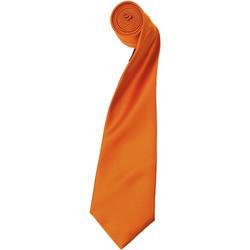 vaatteet Miehet Solmiot ja asusteet Premier Satin Orange