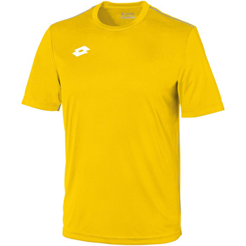 vaatteet Lapset Lyhythihainen t-paita Lotto LT26B Yellow/White