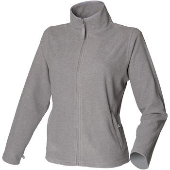 vaatteet Naiset Fleecet Henbury HB851 Heather Grey