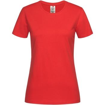 vaatteet Naiset Lyhythihainen t-paita Stedman  Scarlet Red