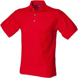 vaatteet Miehet Lyhythihainen poolopaita Henbury HB410 Classic Red