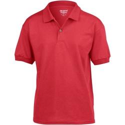 vaatteet Lapset Lyhythihainen poolopaita Gildan 8800B Red