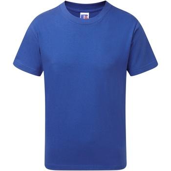 vaatteet Pojat Lyhythihainen t-paita Jerzees Schoolgear J155B Bright Royal