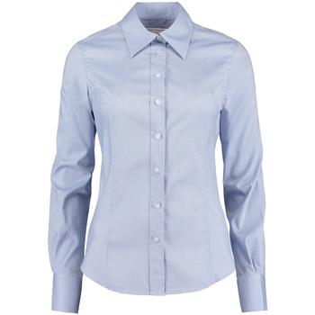 vaatteet Naiset Paitapusero / Kauluspaita Kustom Kit KK702 Light Blue