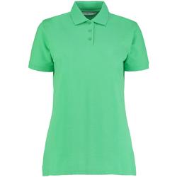 vaatteet Naiset Lyhythihainen poolopaita Kustom Kit Klassic Apple Green
