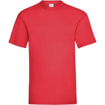 vaatteet Miehet Lyhythihainen t-paita Universal Textiles 61036 Bright Red