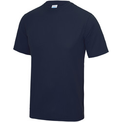 vaatteet Lapset Lyhythihainen t-paita Awdis JC01J Oxford Navy
