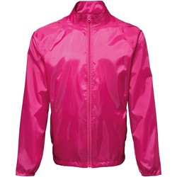 vaatteet Miehet Tuulitakit 2786 TS010 Hot Pink