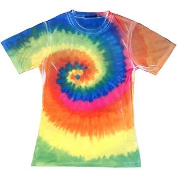 vaatteet Naiset Lyhythihainen t-paita Colortone TD21M Rainbow