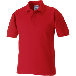 vaatteet Pojat Lyhythihainen poolopaita Jerzees Schoolgear 65/35 Classic Red