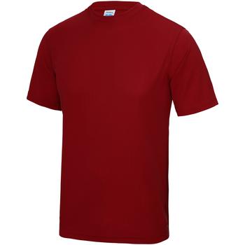 vaatteet Lapset Lyhythihainen t-paita Awdis JC01J Fire Red