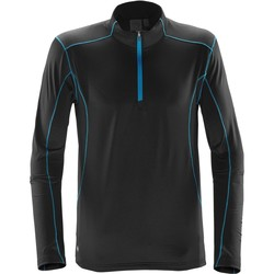 vaatteet Miehet Neulepusero Stormtech Pulse Black/Electric Blue