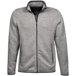 vaatteet Miehet Neuleet / Villatakit Tee Jays TJ9615 Grey Melange