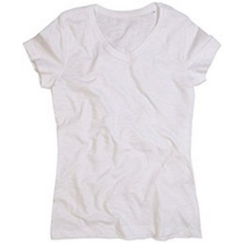 vaatteet Naiset Lyhythihainen t-paita Stedman Stars  White