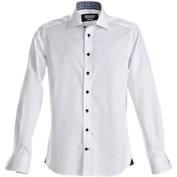 vaatteet Miehet Pitkähihainen paitapusero J Harvest & Frost Red Bow White/ Black
