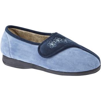 kengät Naiset Tossut Sleepers  Navy/Blue