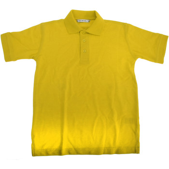 vaatteet Pojat Lyhythihainen poolopaita Kustom Kit KK406 Canary
