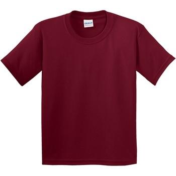 vaatteet Lapset Lyhythihainen t-paita Gildan 5000B Cardinal