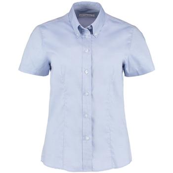 vaatteet Naiset Paitapusero / Kauluspaita Kustom Kit KK701 Light Blue
