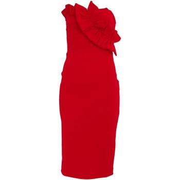 vaatteet Naiset Lyhyt mekko Girls On Film  Red