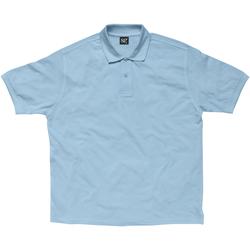 vaatteet Naiset Lyhythihainen poolopaita Sg SG59F Sky Blue