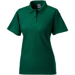 vaatteet Naiset Lyhythihainen poolopaita Jerzees Colours 539F Bottle Green