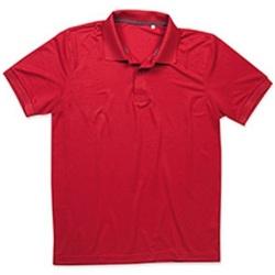 vaatteet Miehet Lyhythihainen poolopaita Stedman  Pepper Red