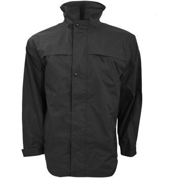 vaatteet Miehet Parkatakki Result R67X Black/Grey